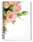 Bouquet Of Garden Roses Spiral Notebook
