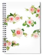 Graden Roses Spiral Notebook