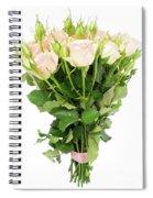 Garden Roses Bouquet Spiral Notebook