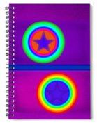 Violet Circus Spiral Notebook