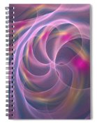 Violet Dreamy Feel Spiral Notebook