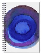 Violet Drops 1- Art By Linda Woods Spiral Notebook