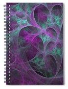 Violet Green Dimensions 16x9 Spiral Notebook