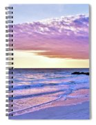 Violet Skies At Nighfall Spiral Notebook