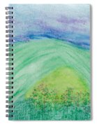 Violets In The Summertime Spiral Notebook