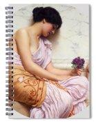 Violets Sweet Violets Spiral Notebook