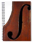 Violin Clef Spiral Notebook