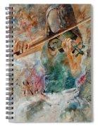 Violinist 56 Spiral Notebook