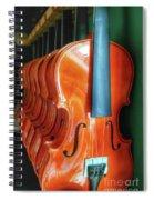 Violins For Sale Spiral Notebook