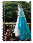 Virgen Concepcion De Ataco 4 Spiral Notebook