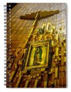 Virgen De Guadalupe 10 Spiral Notebook