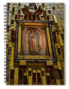 Virgen De Guadalupe 6 Spiral Notebook