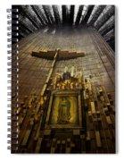 Virgen De Guadalupe 9 Spiral Notebook