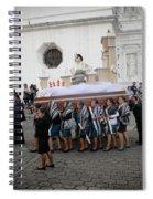 Virgen De La Concepcion - Ciudad Vieja Guatemala Spiral Notebook