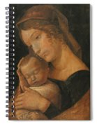Virgin And Child 1470 Spiral Notebook