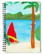 Virgin Island Memories Spiral Notebook