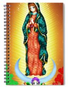 Virgin Of Guadalupe. Spiral Notebook