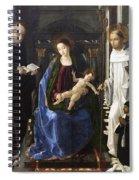 Virgin Of The Knight Of Montesa  Spiral Notebook