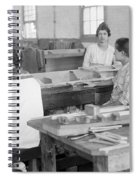 Virginia: Child Labor, 1918 Spiral Notebook