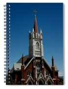 Virginia City Church St Mary Spiral Notebook