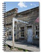 Virginia City Ghost Town - Montana Spiral Notebook