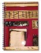 Virginia Dale - Burn Relics In Red Spiral Notebook