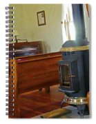 Virginia Dale - Church Interior Spiral Notebook