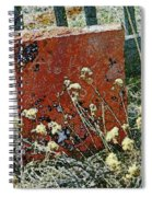 Virginia Dale - The Handwriting On The Red Stone Spiral Notebook