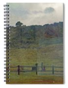 Virginia Dale-reflections On The Cemetery Spiral Notebook