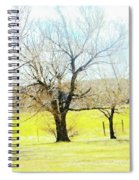 Virginia Dale-three Trees Spiral Notebook
