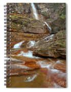 Virginia Fall Glacier Cascades Spiral Notebook