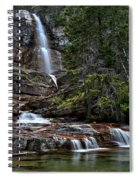 Virginia Falls In The Pool Spiral Notebook