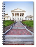 Virginia State Capitol Building Spiral Notebook