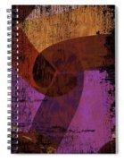 Virgo Illuminations Spiral Notebook