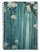 Viridian Bloom Spiral Notebook