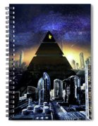 Virtual Law City Spiral Notebook