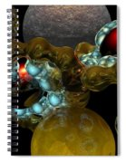 Virus Spiral Notebook
