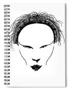 Visage Spiral Notebook