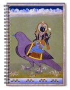Vishnu On A Bird Spiral Notebook