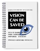Vision Can Be Saved - Wpa Spiral Notebook