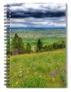 Vision Of Spring Spiral Notebook