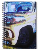 Visions Of Alpine Revisited Spiral Notebook