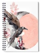 Visions Of Crystal Eyed Ravens Spiral Notebook
