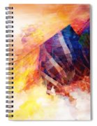 Visions Of Hiranyaloka Revisited Spiral Notebook