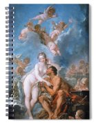 Visit Of Venus To Vulcan Spiral Notebook