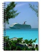 Visiting Paradise Spiral Notebook