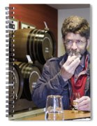 Visitor Samples Single Malt Whisky Spiral Notebook