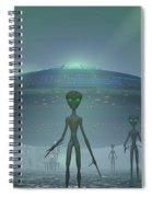 Visitors Spiral Notebook