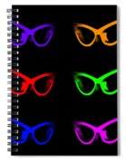 Visual Distinction Full Spectrum Spiral Notebook