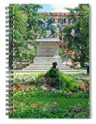 Vittorio Emanuele II Statue Spiral Notebook